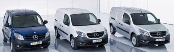 Mercedes Citan: Le plus petit véhicule utilitaire de la marque étoilée