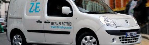 Renault Kangoo Z.E: 1er utilitaire électrique