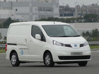 nissan e nv200 un nouvel utilitaire 100 lectrique. Black Bedroom Furniture Sets. Home Design Ideas